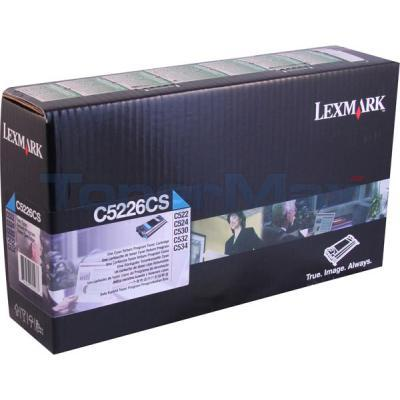 LEXMARK C522 RP TONER CART CYAN TAA